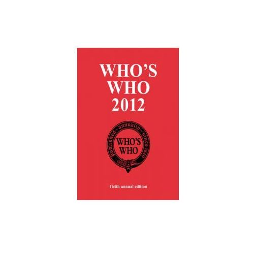Who's Who 2012 (9781408142295)