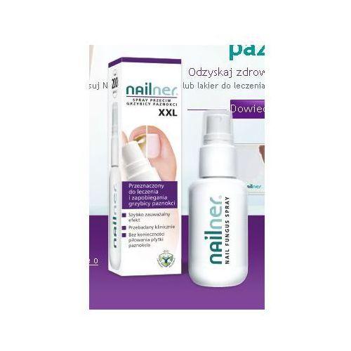 Produkt Nailner Spray XXL - 35 ml - przeciwko grzybicy paznokci - stop paznokciom zniszczonym przez grzybicę Kurier już od 0 PLN odbiór osobisty: GRATIS!