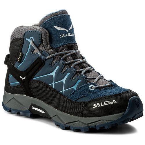 Trekkingi SALEWA - Alp Trainer Mid Gtx GORE-TEX 64006-0365 Dark Denim/Charcoal