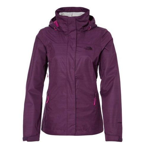The North Face LOWLAND Kurtka hardshell black currant purple - produkt dostępny w Zalando.pl