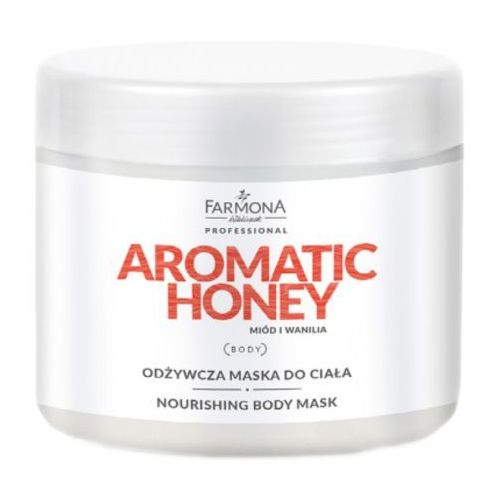 aromatic honey odżywcza maska do ciała marki Farmona