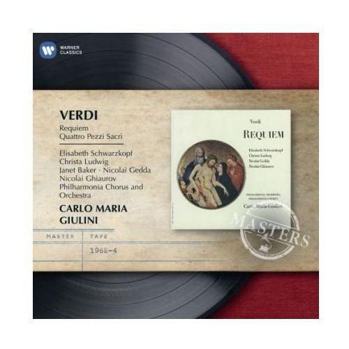REQUIEM & FOUR SACRED PIECES - Carlo Maria Giulini (Płyta CD), 0852192