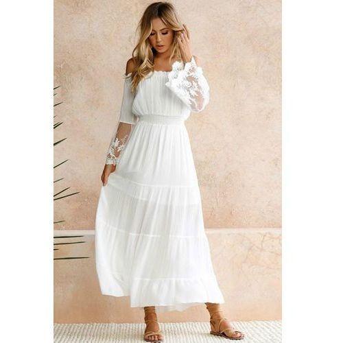 Sukienka ATIKA, kolor biały
