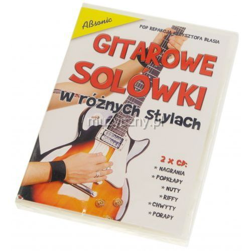 AN Błaś Krzysztof ″Gitarowe solówki w róznych stylach″ 2x CD