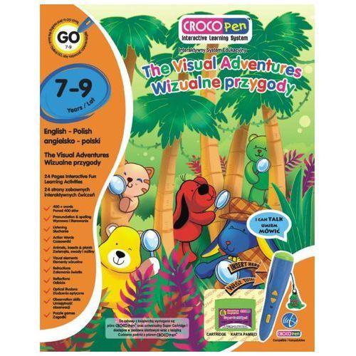 Interaktywna książka CROCOLEARN KACP85014 z serii Crocopen Wizualne Przygody (7 - 9 lat)
