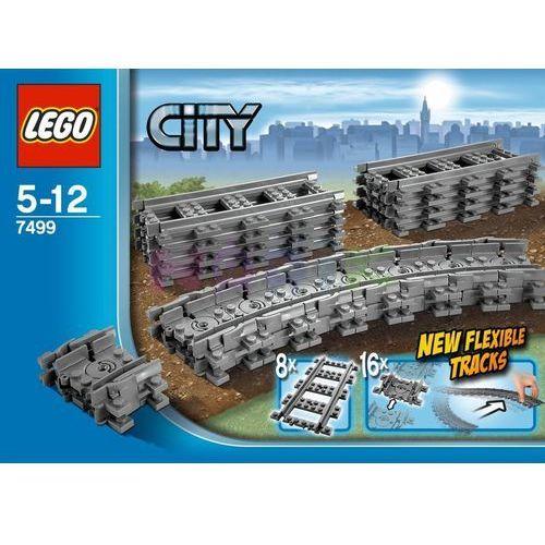 City Elastyczne tory Lego (kolejka i tor dla dziecka)
