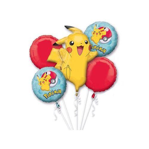 Bukiet balonów foliowych pokemon - 1 kpl. marki Amscan