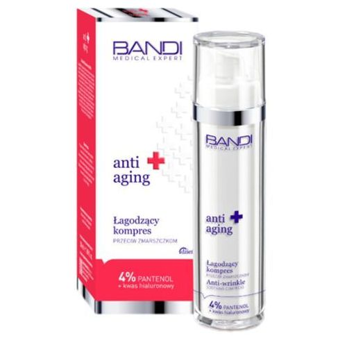 Bandi MEDICAL ANTI-AGING SOOTHING COMPRESS Łagodzący kompres przeciw zmarszczkom (NX06)