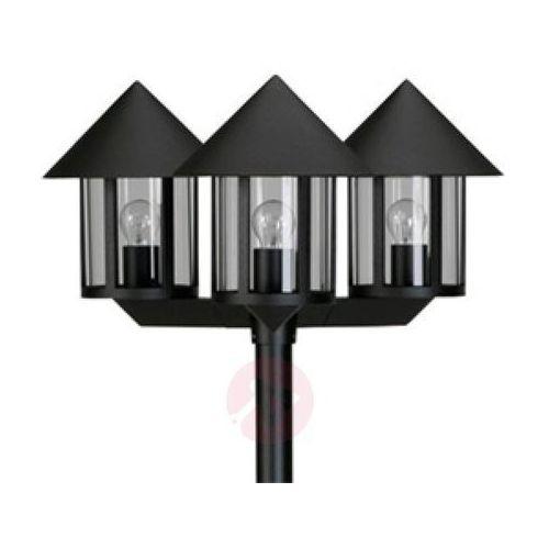 Albert leuchten Maszt oświetleniowy lampione 3-punktowy czarny