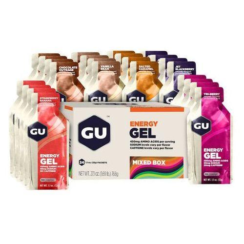 GU Energy Energy Gel Mix Żywność energetyczna 24 x 32g kolorowy Batony i żele energetyczne (3076949522139)