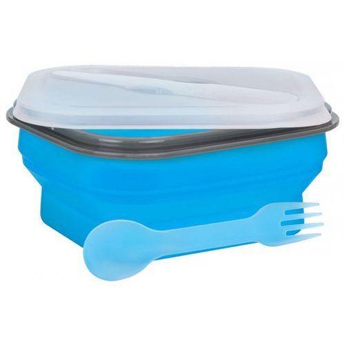 Lunch box mpm sls-2 silikonowy 600 ml niebieski + zamów z dostawą jutro! marki Smile