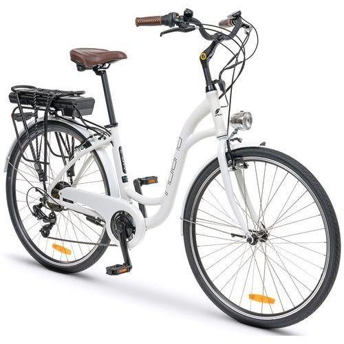 Rower elektryczny INDIANA E-City D17 Biały