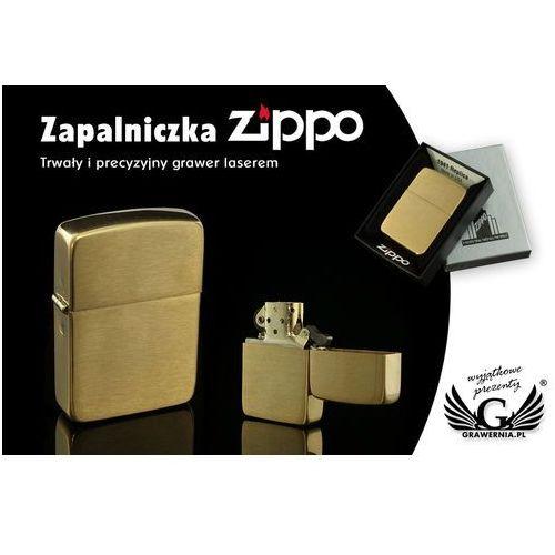 Zapalniczka 1941 replica brush brass vintaged marki Zippo