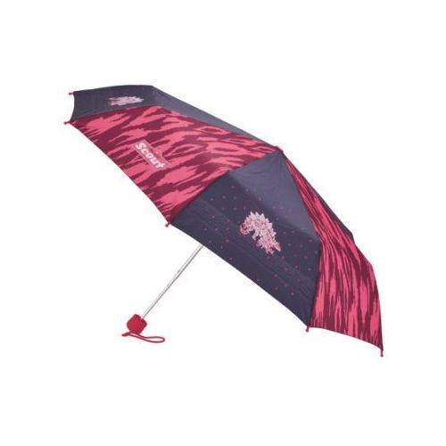 basic parasolka kieszonkowa - pink dino marki Scout