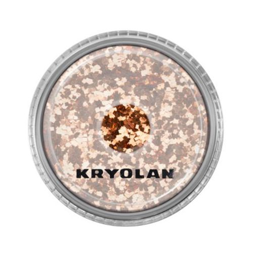polyester glimmer coarse (copper) gruby sypki brokat - copper (2901) marki Kryolan