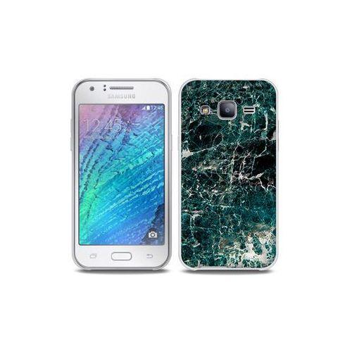 Etuo full body slim fantastic Samsung galaxy j5 - etui na telefon full body slim fantastic - zielony marmur