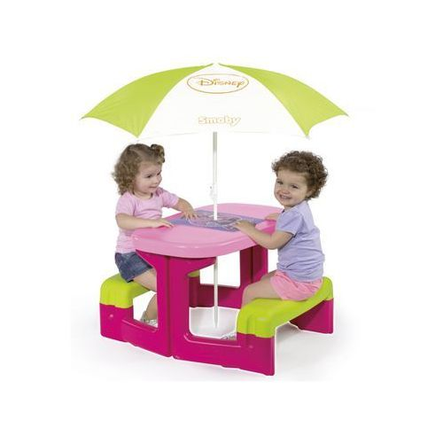 Stół Piknikowy Minnie Z Parasolem, 310274, Smoby z Stresh
