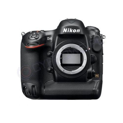 D4 marki Nikon - lustrzanka cyfrowa