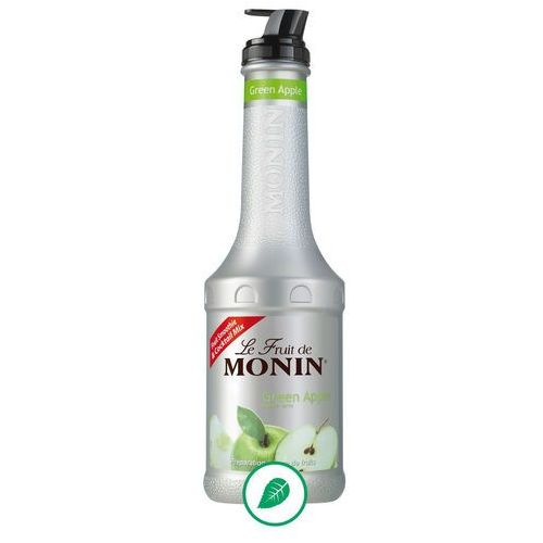 Monin Puree zielone jabłko green apple 0,5l monin 903010 sc-903010