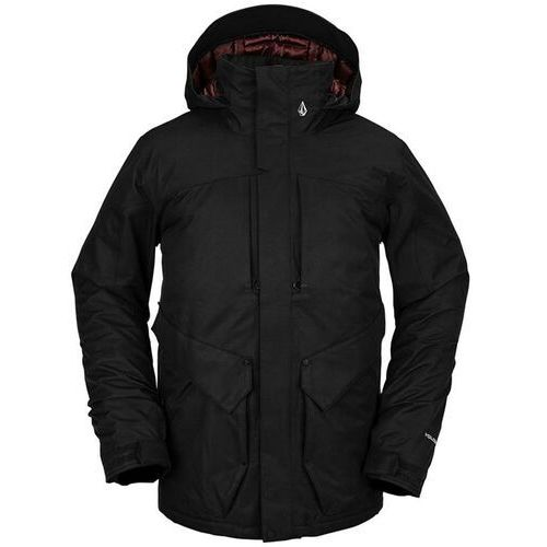 Volcom Kurtka - anders 2l tds jacket black (blk)