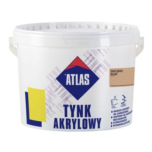 Tynk akrylowy Atlas SAH 0045 agat 25 kg (5905400430745)