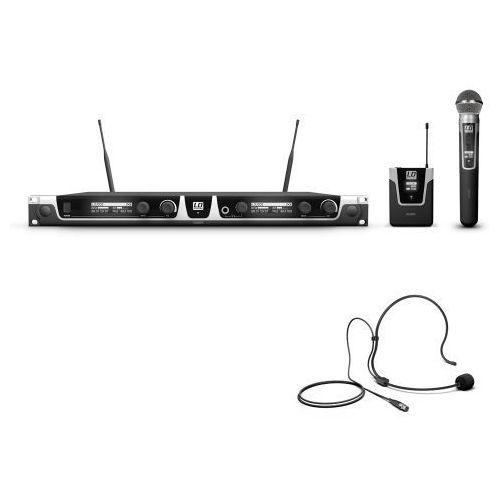 Ld systems u508 hbh 2 mikrofon bezprzewodowy nagłowny i doręczny