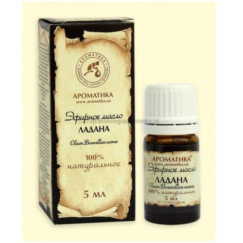 Aromatika Eteryczny olejek olibanowy ( kadzidłowiec ) 5 ml.