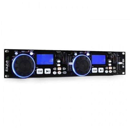 Idj2 podwójny kontroler dj usb/sd mp3 scratch marki Ibiza