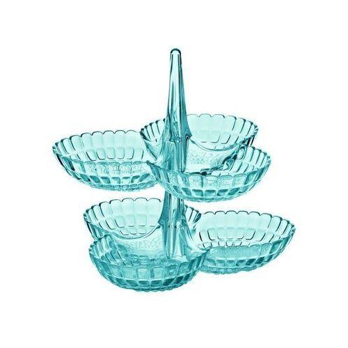 Guzzini - Tiffany - kpl 2 potrójnych miseczek na przystawki, niebieski - niebieski