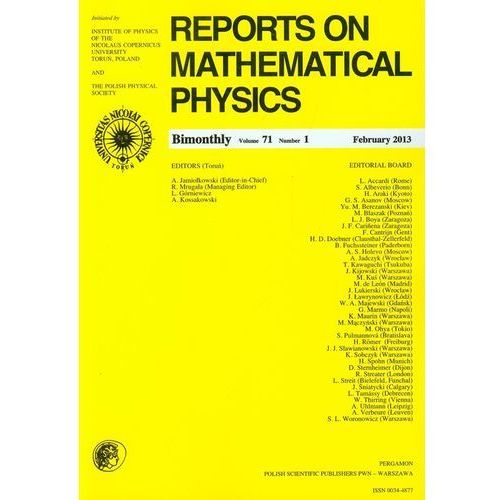 Reports on Mathematical Physics 54/1 wer.eksp.