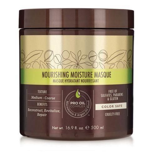 Macadamia nourishing moisture - odżywcza maska do włosów normalnych i grubych 500ml