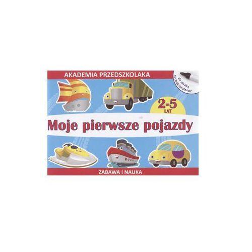Moje pierwsze pojazdy. Rysujemy po śladzie. Akademia przedszkolaka - ŁÓDŹ, odbiór osobisty za 0zł!, Literat
