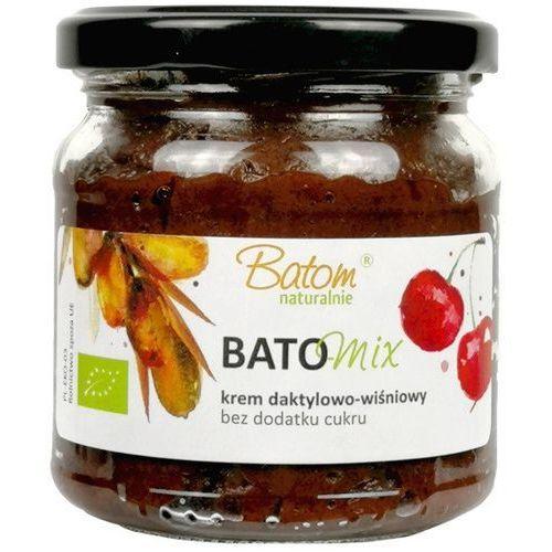 Batom (dżemy, soki, kompoty, czystek) Krem daktylowo-wiśniowy bio 200 g - batom (5907709953543)