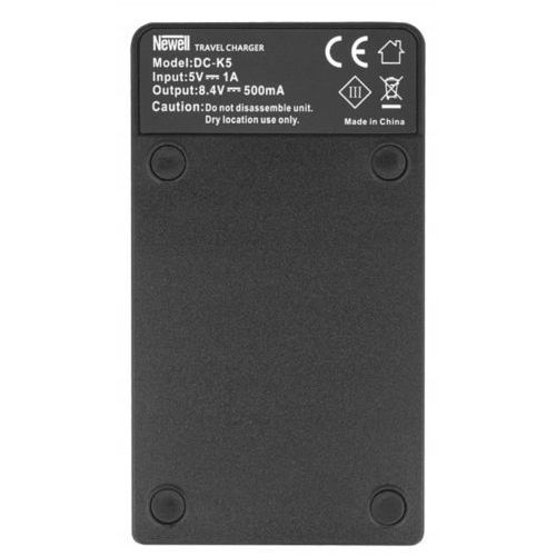 Newell Ładowarka dc-usb do akumulatorów np-w126