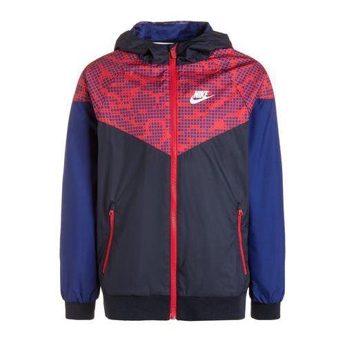Nike Performance WINDRUNNER Kurtka sportowa obsidian/deep royal blue/university red z kategorii kurtki dla dzieci