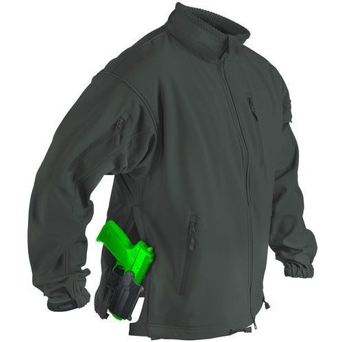 kurtka Helikon Jackal SoftShell jungle green (BL-JCK-FS-27)