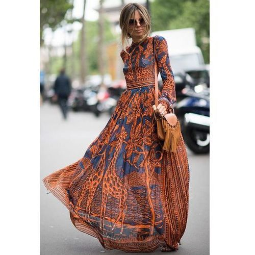 Suknia AURORA, kolor wielokolorowy