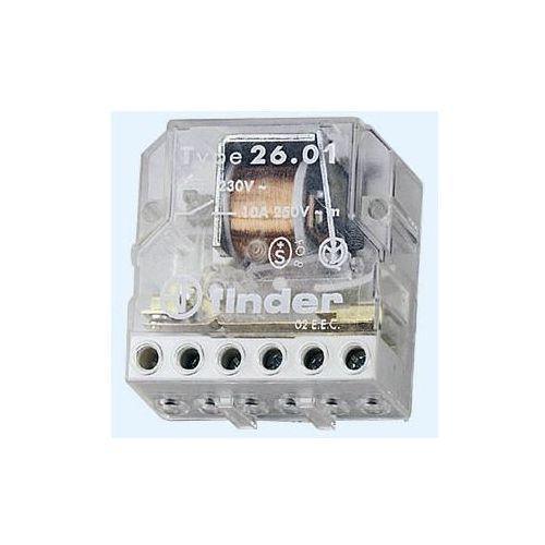 Przekaźnik impulsowy 2NO 10A 12V AC 26.06.8.012.0000, 26-06-8-012-0000