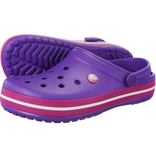 Crocs Chodaki crocband neon purple candy pink