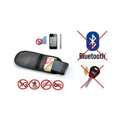 Pokrowiec na Tel. GSM/Smartfon, Kluczyk (chroni przed inwigilacją..), Blokuje Sygnał GSM,GPS,Wifi..., 5908973415254