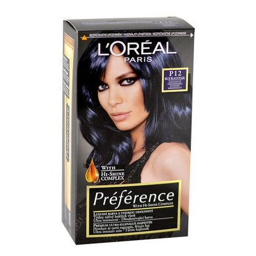 Préférence Féria Hair Colour 1szt W Farba do włosów P12 Blue Black Pearl, L´Oreal Paris