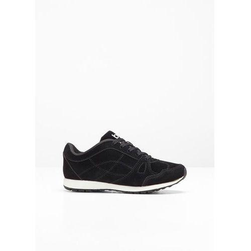 Sneakersy bonprix czarny, w 9 rozmiarach