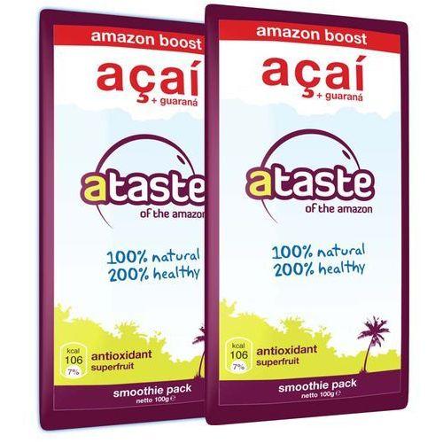 Ataste of the amazon Mrożone acai + guarana od ataste