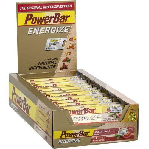 PowerBar Energize Żywność dla sportowców Bella Italia 25 x 55g Bella Italia 2017 Zestawy i multipaki (4029679670037)