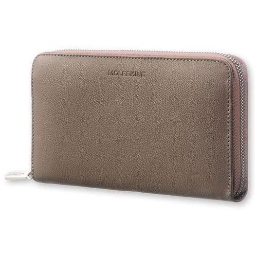 Moleskine Portfel zip wallet lineage honeysuckle taupe
