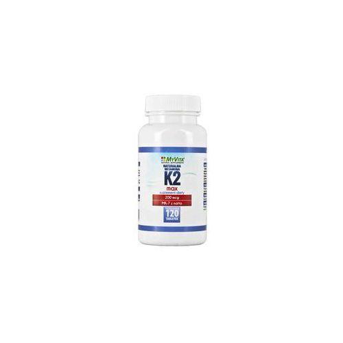 Myvita Naturalna witamina k2 mk-7 max 200mcg 120 tabletek