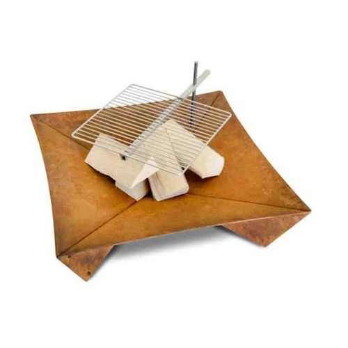 Palenisko ogrodowe z grillem Keilbach Fluxus 80 cm - oferta [25e92070374142d3]