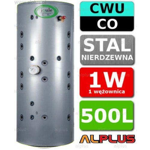 JOULE 500L THERMALSTORE 2.0 SOLAR zbiornik spiro nierdzewka 1W 1 Wężownica solarna 2w1 czyli bufor wody kotłowej i podgrzewacz CWU Wysyłka gratis