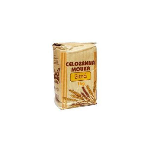 Mąka ŻYTNIA pełnoziarnista drobna 1000g NATURAL