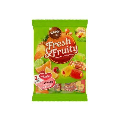 Wawel 160g fresh & fruity galaretki z nadzieniem (5900102017867)